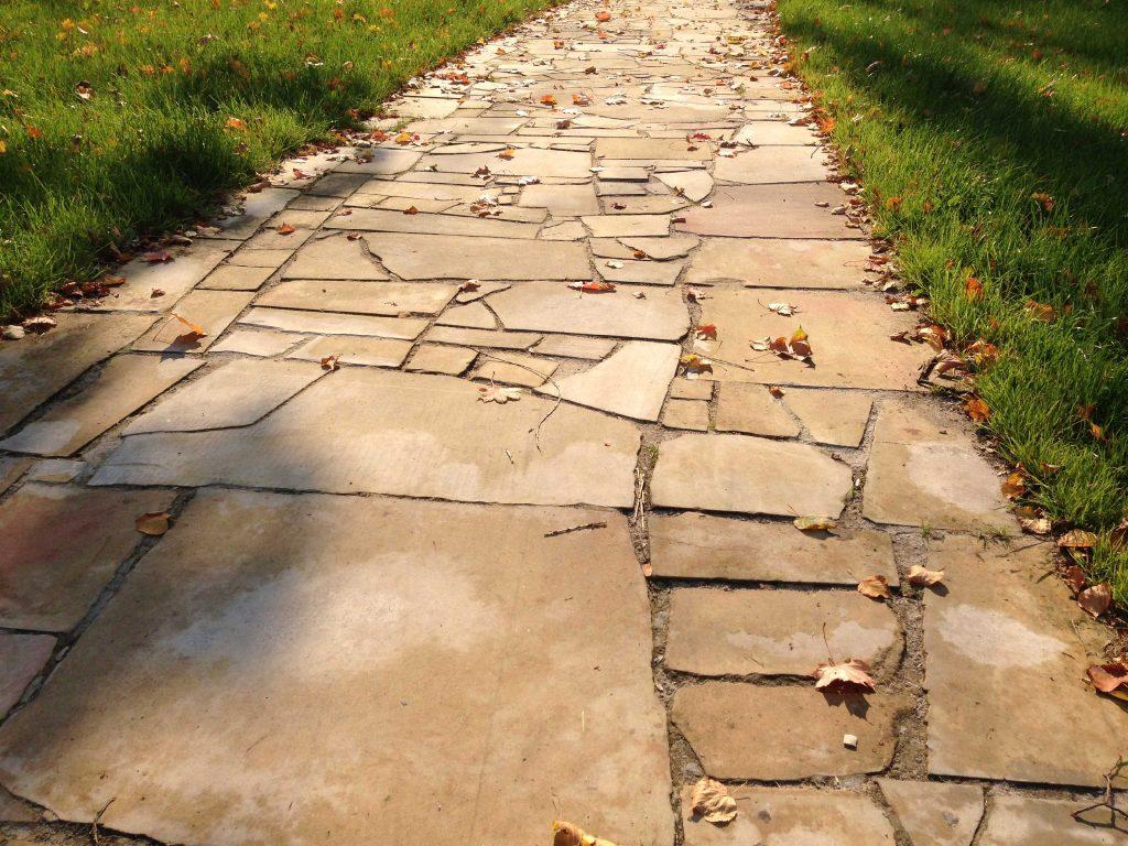 polygonalplatten sandstein