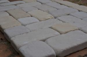 pflastersteine Antikart sandstein