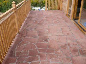 polygonalplatten sandstein rot